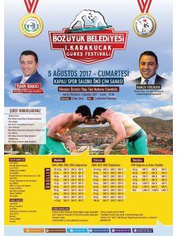 Bozüyük'te İlk Kez Güreş Festivali Düzenlenecek