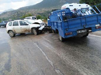Sarıcakaya'da Trafik Kazası: 1 Yaralı