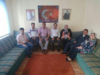 Yunus Emre Ülkü Ocağı Şehit Ve Gazi Ailelerini Ağırladı