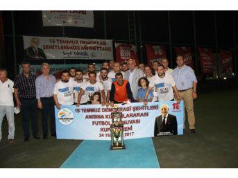 İskenderun'da 15 Temmuz Şehitleri Futbol Turnuvası