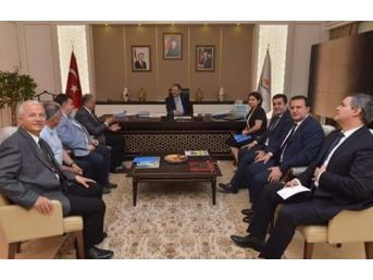 Ak Parti'li Başkanlar, Projelerle Ankara'ya Gitti