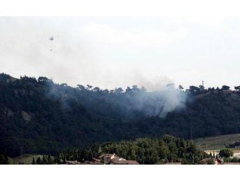 Karabük'te 500 Metrekarelik Orman Yandı...