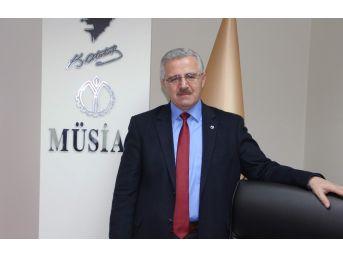 Müsiad Başkanı Ahmet Nur Basın Bayramını Kutladı