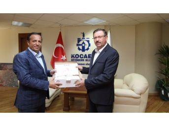 Başkan Toltar'dan Genel Sekreter İlhan Bayram'a Ziyaret