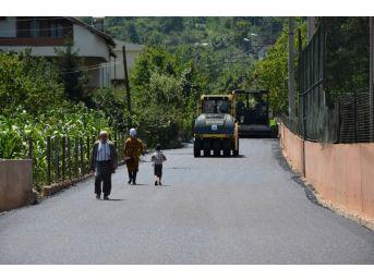 Nusretiye Mahallesi'nin Sokakları Asfaltlandı