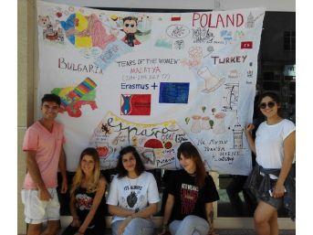 5 Ülkeden 43 Genç Aile İçi Şiddeti Araştırmak İçin Malatya'da