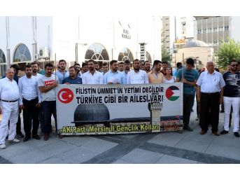 Mescid-i Aksa'nın İbadete Kapatılması Mersin'de Protesto Edildi