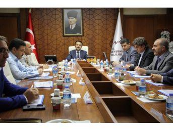 İl İstihdam Ve Mesleki Eğitim Kurulları Toplantısı Yapıldı
