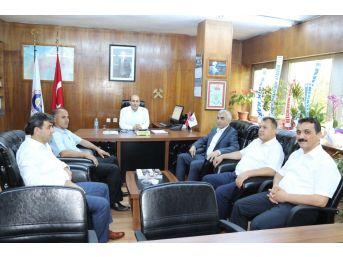Gmis Yönetimi, Ttk'da Göreve Atanan Yöneticileri Ziyaret Etti