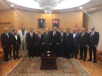 Mhp'li Belediye Başkanlarından Bahçeli'ye Hizmet Brifingi