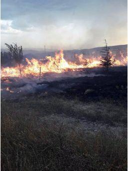 Sandıklı'da Orman Yangını