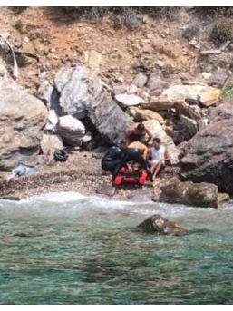 Aracıyla Denize Uçtu, İki Gün Kimsenin Haberi Olmadan Yaralı Şekilde Bekledi