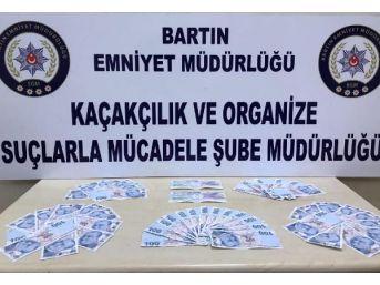 Bartın'da Sahte Para Ve Çek Operasyonu: 2 Gözaltı