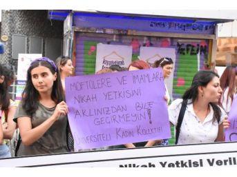 İzmirli Kadınlardan Yasa Tasarısına Tepki