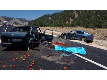 Kahramanmaraş'ta İki Farklı Kazada 2 Kişi Öldü, 3 Kişi Yaralandı