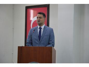 """Vali Haktankaçmaz: """"mesleki Eğitim Türkiye'nin Kurtuluşu Olacak"""""""