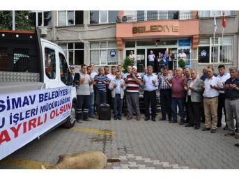 Simav Belediyesine Araç Takviyesi
