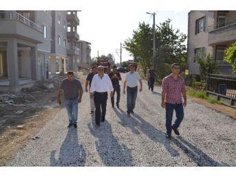 İznik'te Yol Hamlesi