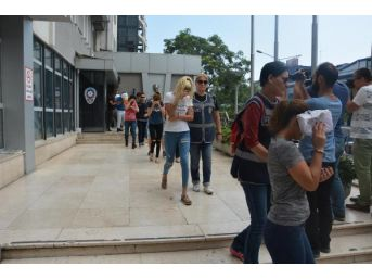 'Ruletli' Ve 'Transferli' Fuhuş Çetesi Operasyonu: 11 Gözaltı