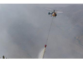 Oltu'daki Orman Yangını Üçüncü Gününde Sürüyor