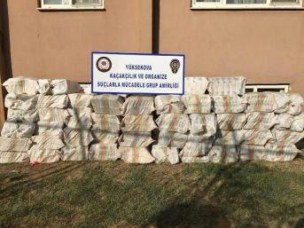 Hakkari'de 26 Bin Paket Kaçak Sigara Ele Geçirildi