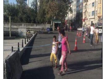Taksim'de Şüpheli Paket Alarmı (1)
