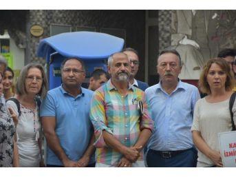 Kesk'Ten Nuriye Gülmen Ve Semih Özakça'Ya Destek Eylemi