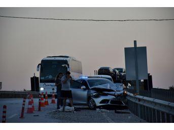 Kastamonu'da 3 Araçlı Trafik Kazası Meydana Geldi