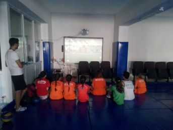 Simav'da 'görsel Cimnastik' Eğitimi