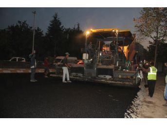 Nevşehir'de Ana Yollar Sıcak Asfaltla Kaplanıyor