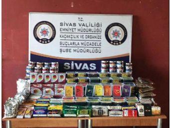 Sivas'ta Kaçak Tütün Operasyonu