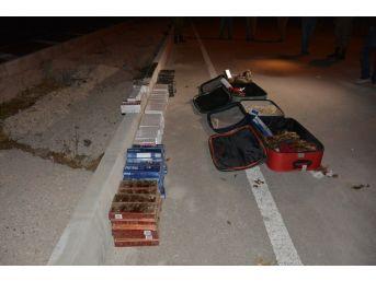 Tokat'ta Kaçak Sigara Operasyonu