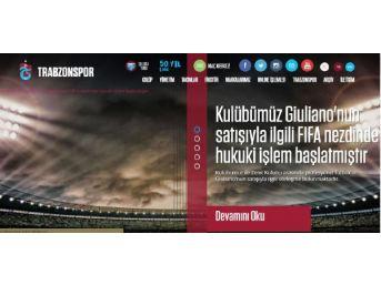 Trabzonspor Giuliano Transferi Için Fıfa'Ya Başvurdu