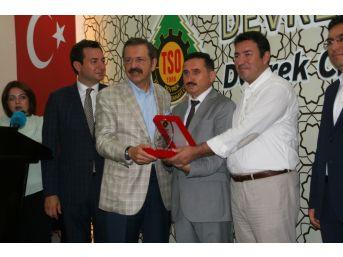 Tobb Başkanı Hisarcıklıoğlu Devrek'te