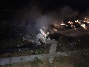 Adana'da Insanız Hava Aracı Düştü (2)