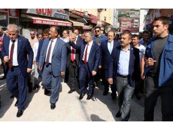 Bakanlar Özhaseki Ve Ağbal, Bayburt'ta