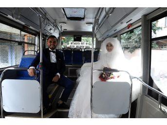 (özel Haber) Böyle Olur Otobüs Şoförünün Düğünü