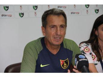Denizlispor Teknik Direktörü Yusuf Şimşek: