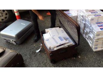 Atatürk Havalimanı'nda Kaçak Sigara Operasyonu: 4 Gözaltı