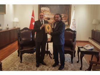 Rektör Akgül'den Diyanet İşleri Başkanına Ziyaret