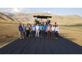 Kağızman'da Asfalt Çalışmaları