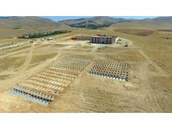 Asri Mezarlık İnşaatında Son Aşamaya Gelindi