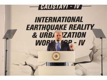 Başbakan Yıldırım, Deprem Çalıştayı'na Katıldı