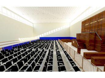 Konya'da, 527 Sanıklı Fetö Davası İçin Spor Salonu Hazırlanıyor