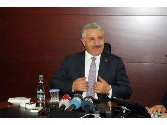 """Ulaştırma Bakanı Arslan: """"bu Ülke Dünyadaki Mazlumlar Ve Mağdurlar İçin De Büyümek Zorunda"""""""