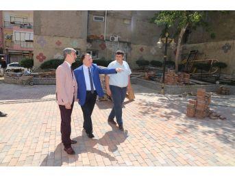 Başkan Şirin'den Eski Belediye Binasında İnceleme