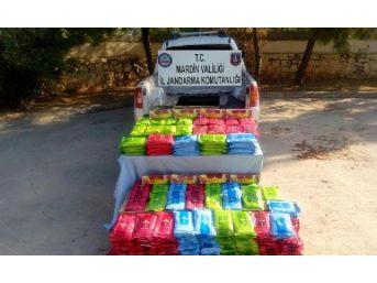 Mardin'de 665 Kilo Kaçak Nargile Tütününe 4 Gözaltı