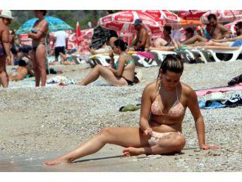 Fethiye Plajları Tıklım Tıklım