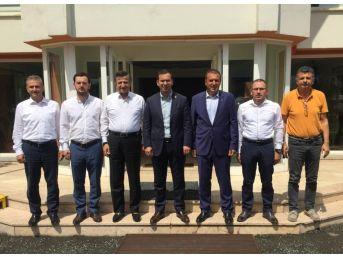 Arsin Osb Misafirlerini Ağırladı