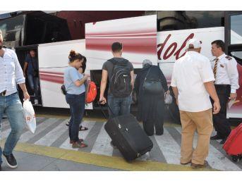 Otobüs Terminallerinde Kurban Bayramı Yoğunluğu